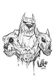 hades symbol coloring pages | cerberus Picture, cerberus Image | Tattoo | Pinterest | Dr ...