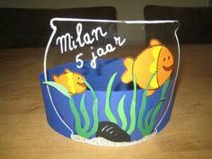 Een keertje wat anders zo met een doorzichtige vissenkom. Heel leuk! Art Lessons For Kids, Art For Kids, Crafts For Kids, 7th Birthday, Happy Birthday, Birthday Parties, Crown Art, Fish Crafts, Crazy Hats