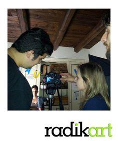 Sabato, alla Fondazione Ferretti, V° appuntamento con il corso Videomaker!! LA LUCE!!! Bellissima lezione! Stay tuned with www.radikart.it/