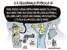 Falta de segurança pública