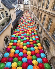 We've put together a list of what to buy in Paris that will properly define your experience. Read on to find out more. The umbrella street in Paris, France ☂️☂️☂️ 📸