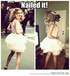 She definitely nailed it…