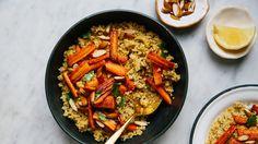 Millet Couscous with Roasted Carrots Recipe - Bon Appétit Recipe