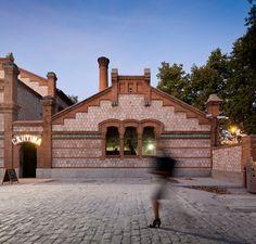 An Old Slaughterhouse Is Now A Public Cinema Center in Matadero de Legazpi, Madrid | Yatzer