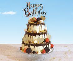 Voor alle verjaardagen en zeker ook voor jouw sweet sixteen! Happy Birthday, Birthday Cake, Jaba, Sweet Sixteen, Desserts, Food, Bavarian Cream, Seeds, Happy Brithday