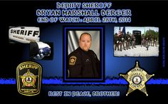 IN MEMORIAM – DEPUTY BRYAN BERGER Sheriff Roger Harris of the Spotsylvania (Virginia) County Sheriff Department sadly reports that Deputy Bryan Berger, 34, died following a medical emergency. Deputy Berger is survived by Heidi, his wife of three years and his parents.  He had no children. Deputy Sheriff Bryan Berger-gone, but never forgotten.   Read More: http://www.lawenforcementtoday.com/2014/04/30/in-memoriam-deputy-bryan-berger/