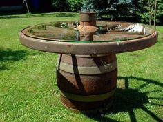 Wagon Wheel Table, Wagon Wheel Decor, Handmade Furniture, Rustic Furniture, Garden Furniture, Table Furniture, Rustic Table, Rustic Decor, Farmhouse Decor