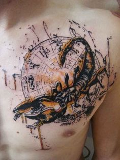 Tattoo, Skorpion
