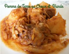 Delicious Potato mixed with cabbage and beef. This will get your whole family coming back for more! http://sweetlittlelifeofme.com/2017/03/13/pomme-de-terre-au-choux-et-viande/