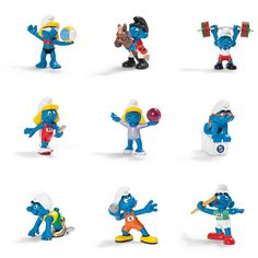 Olympic Smurfs collection