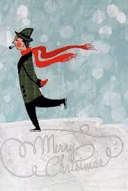 Image result for vintage santa card
