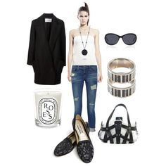"""""""B&W accents"""" by runway2street on Polyvore"""