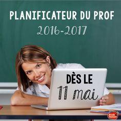 Planificateur du Prof 2016-2017, à éditer selon vos besoins par Profs et Soeurs