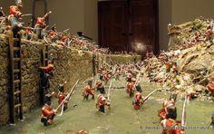 Recreaciones Históricas en miniatura: Asalto a la brecha de la Trinidad, abril de 1812.