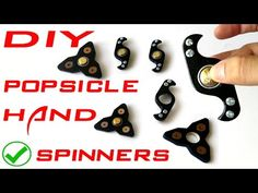 How to Make Fidget Spinner Toys