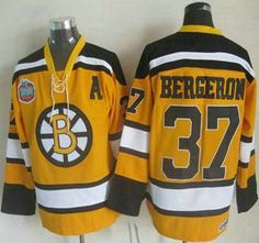 Bruins Patrice Bergeron Yellow Winter Classic CCM Throwback Stitched NHL  Jersey Jerseys Authentic Wholesale For Sale 0f6893a46