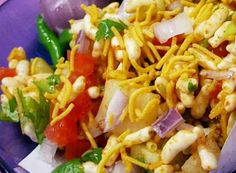 Jhal Muri Jhal Muri is a popular street food (chaat) snack made with puffed rice and spices.