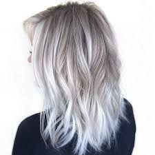 Résultats de recherche d'images pour « silver hair with blonde ombre »