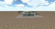 3D #architecture via @themuellerinc http://ift.tt/2jvhrYp #barn #workshop #greenhouse #garage #DIY
