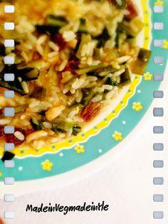 Made in Veg...Made in Yle: Riso detox con cicoria uvetta e pinoli #vegan #gf #glutenfree