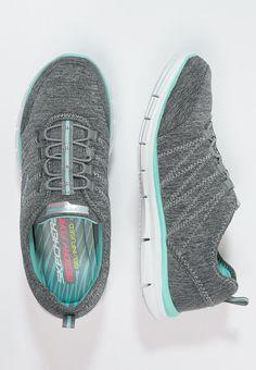 fa91d53521 ¡Cómpralo ya!. Skechers Sport SPORT ACTIVE GLIDER Zapatillas gray aqua.  Skechers