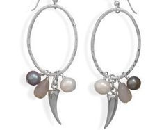 Bridal jewelry The Franca charming earrings with by anthology27