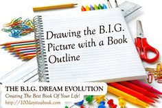 Draw The BIG Picture With A Book Outline   A BIG Dream Evolution Training  http://writetowin.org/draw-the-big-picture-with-a-book-outline/