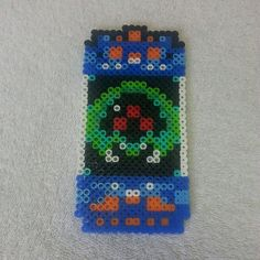 Baby Metroid perler beads by nerdfabulous