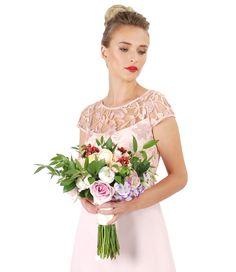 Wedding outfit Summer 17   YOKKO #lace #flowers #wedding #style #fashion #romantic #yokko #summer 17 Evening Cocktail, Bridesmaid Dresses, Wedding Dresses, Lace Flowers, Outfit Summer, One Shoulder Wedding Dress, Style Fashion, Cocktails, Parties