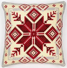 Nordic Snowflake Cross Stitch Tapestry Kit 1200.115V