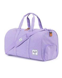 Herschel Novel Duffle Bag Lilac