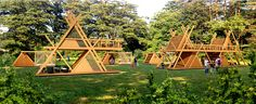 glamping mod perfect for nature camping resort model max obj skp 8 Camping Con Glamour, Patio Roof Covers, Triangle House, Pergola Pictures, Pergola Ideas, Diy Pergola, Pergola Plans, Tiny House Exterior, Back To Nature