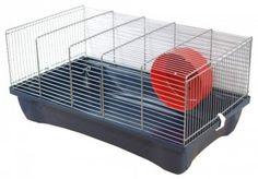 Ideal für Einsteiger ist der einfache Hamsterkäfig Jimmy New. Er überzeugt durch gute Qualität zum kleinen Preis.