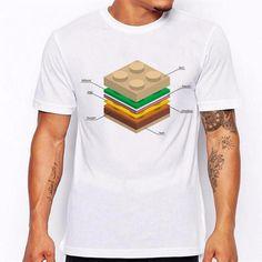 Men's LEGO Burger T shirt