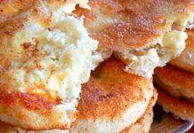 Αφράτες τηγανίτες με τυρί φέτα Pancakes, French Toast, Breakfast, Bee, Food, Gastronomia, Recipes, Morning Coffee, Pancake