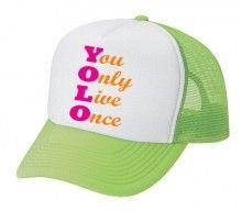 #YOLO Trucker Cap