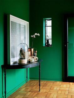hallway - Tonic Design Studio - photo Luane Toms - Frank Features for Elle Deco 2014 - paint and colour