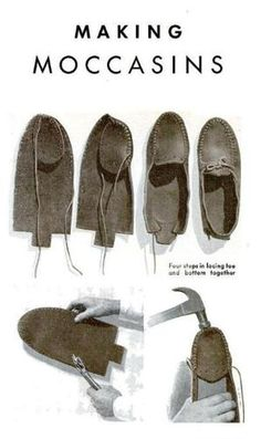 make moccasins! by shopportunity