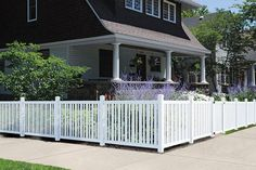 6 X 6 White Vinyl Belmont Privacy Fence Panel At Menards
