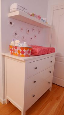 Changing table idea - ikea table transformed!