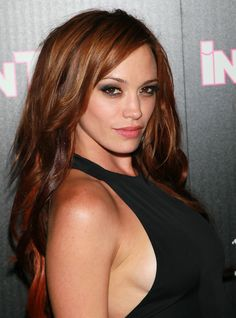 Jessica Sutta Lookbook: Jessica Sutta wearing Long Curls (4 of 5). Jessica hit the red carpet with fiery red locks curled to her waist.