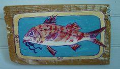 Kea- Greek Art- Fish