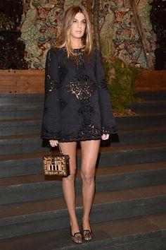 Bianca Brandolini d'Adda en Dolce & Gabbana http://www.vogue.fr/mode/look-du-jour/articles/bianca-brandolini-d-adda-en-dolce-gabbana-7/22247