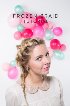 Frozen-inspired braid tutorial