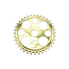 GOLD TWISTED BICYCLE SPROCKET 36T CHAINRING BEACH CRUISER  LOWRIDERS
