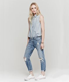Oh, but I love my skinnies!! :*( 8 Reasons To Ditch Your Skinnies For Slouchy Jeans #refinery29