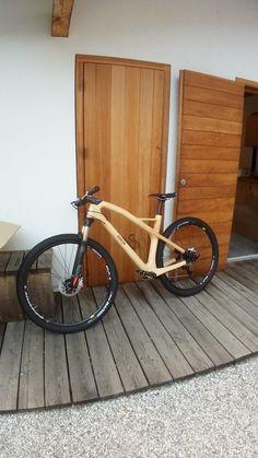 Wood Bike, Wooden Bicycle, Tricycle Bike, Cargo Bike, Bike Frame, Bicycle Design, Sidecar, Made Of Wood, Custom Bikes