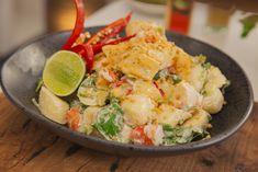 Prawn & Potato Salad w: Sweet Chilli Lime Dressing