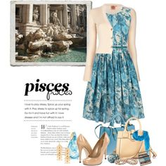 """""""Fashion for signs: Pisces"""" by bellamorte-113 on Polyvore"""