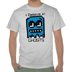 Pixel Ghost I Believe in T-shirts